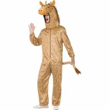 Giraffe foute kleding voor volwassenen