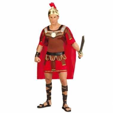 Gladiator foute kleding met helm voor heren