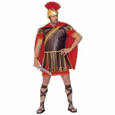 Gladiator foute kleding rood bruin heren