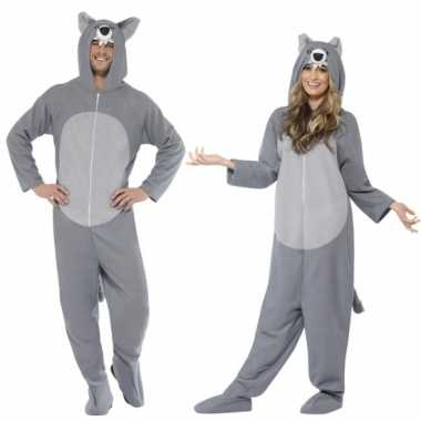 Grijze wolf foute kleding