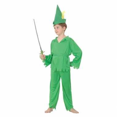 Groen elfjes foute kleding voor jongens