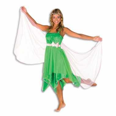 Groene elfen foute kleding dames