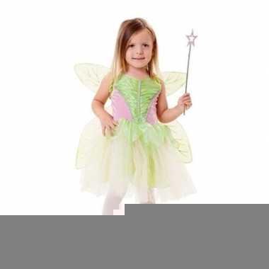 Groene fee foute kleding voor meisjes