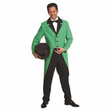 Groene foute kleding slipjas