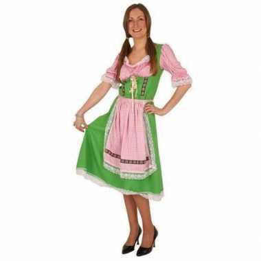Groene oktoberfest foute kleding voor dames