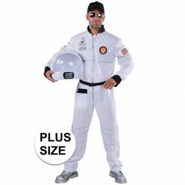 Grote maat astronaut foute kleding voor heren