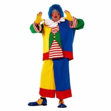 Grote maat clowns foute kleding voor heren