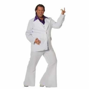 Grote maat disco foute kleding voor mannen