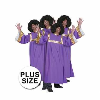 Grote maat gospel foute kleding