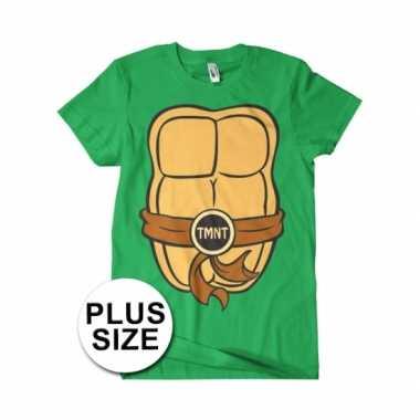 Grote maat heren ninja turtles foute kleding