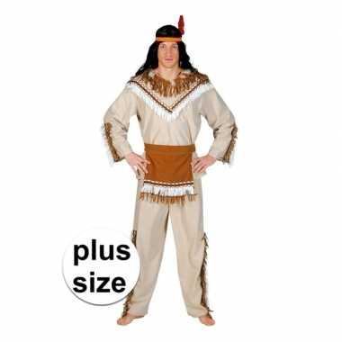 Grote maat indiaan adahy foute kleding voor heren