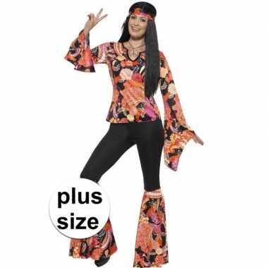 Grote maten hippie foute kleding willow voor dames