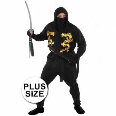 Grote maten ninja foute kleding voor heren