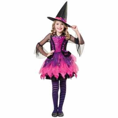 Halloween barbie heksen foute kleding voor meisjes