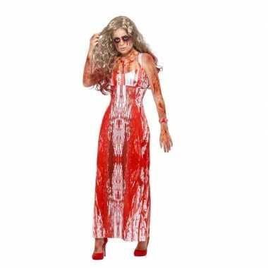 Halloween carrie foute kleding voor dames
