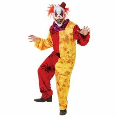 Halloween foute kleding horror clown