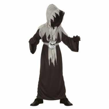 Halloween horror monnik foute kleding voor kinderen