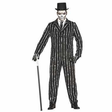 Halloween luxe 3 delig skeletten foute kleding voor heren