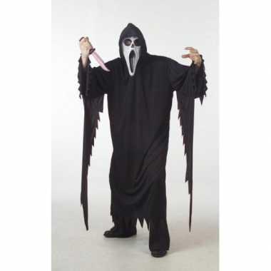 Halloween scream foute kleding grote maat