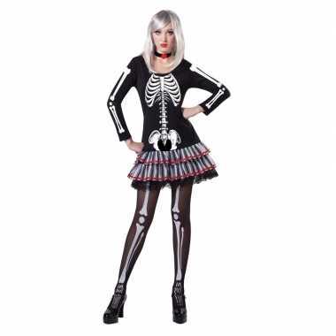 Halloween skelet foute kleding voor dames