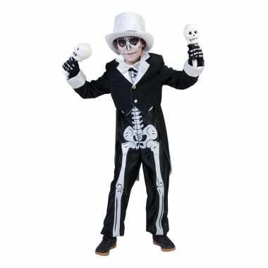 Halloween skelet foute kleding voor jongens
