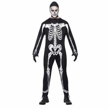 Halloween skelet foute kleding voor volwassenen