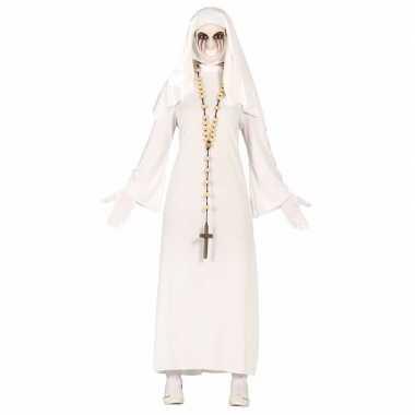 Halloween spookachtige nonnen foute kleding voor dames