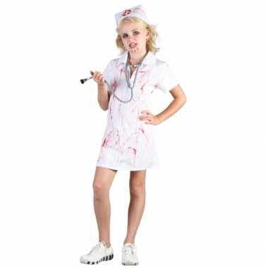 Halloween zuster foute kleding voor meisjes