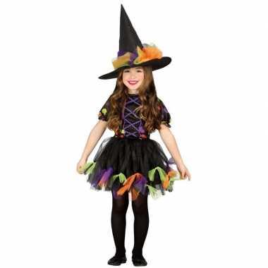 Halloween zwart heksen foute kleding voor meisjes