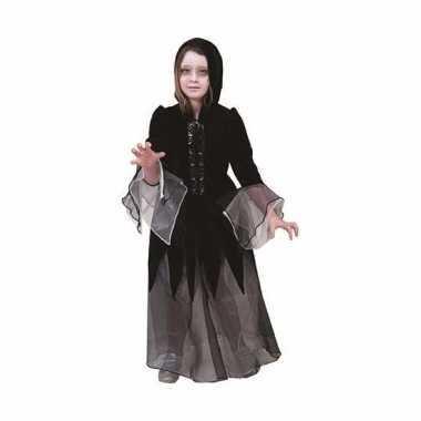 Heksen foute kleding jurkje zwart