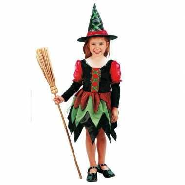 Heksen foute kleding meisje