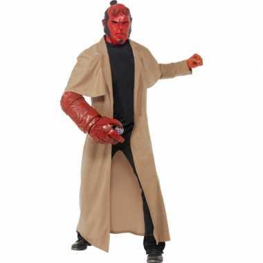 Hellboy foute kleding 4 delig