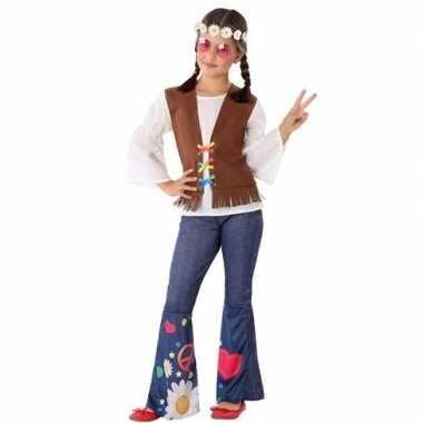Hippie/flower power foute kleding voor meisjes