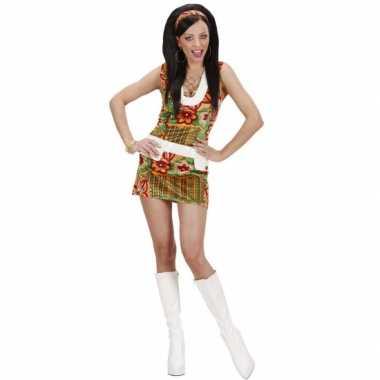 Hippie foute kleding voor dames flowers