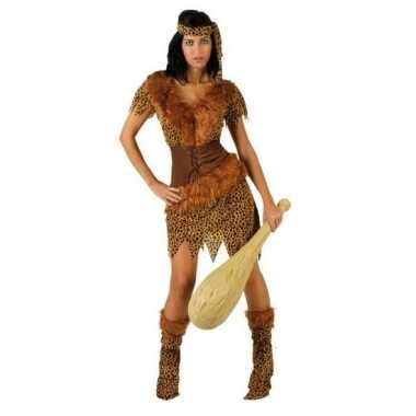 Holbewoonster/cavewoman ayla foute kleding/jurk dames