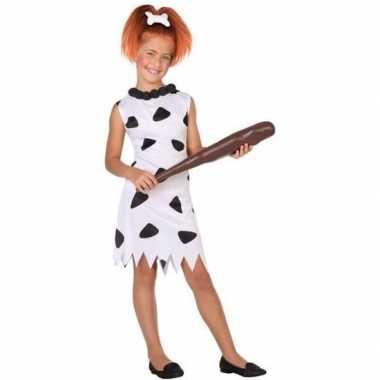Holbewoonster/cavewoman wilma foute kleding/jurk voor meisjes