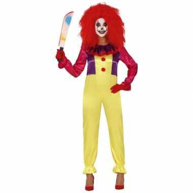 Horror clown freak foute kleding voor dames