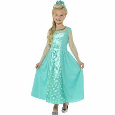 Ijsprinses foute kleding voor meisjes