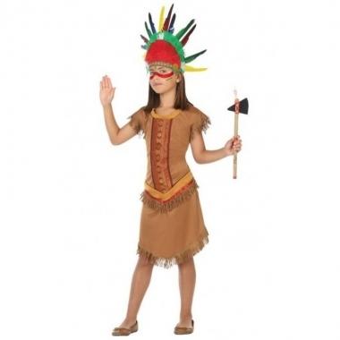Indiaan/indianen jurk/jurkje foute kleding voor meisjes