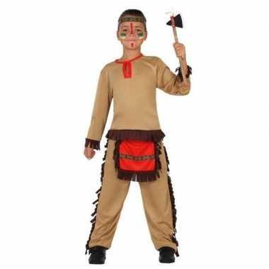 Indiaan/indianen pak/ foute kleding voor jongens