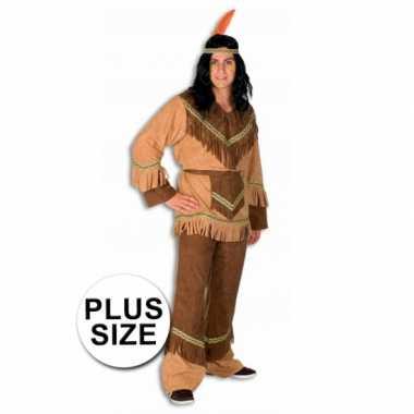 Indianen foute kleding in grote maten
