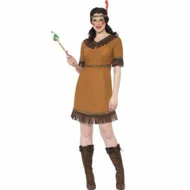 Indianen foute kleding jurk voor dames