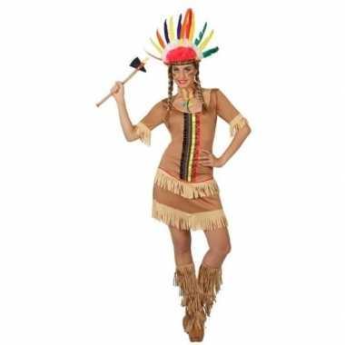 Indianen manipi jurkje/foute kleding voor dames
