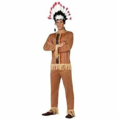 Indianen pallaton pak/foute kleding voor heren