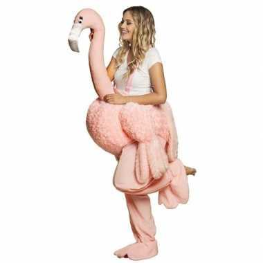 Instap foute kleding flamingo voor volwassenen