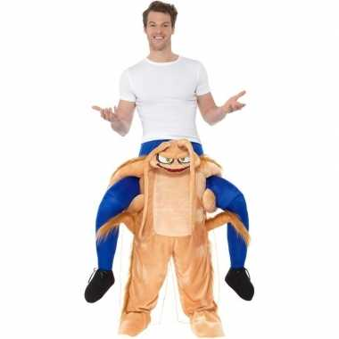 Instapfoute kleding kakkerlak voor volwassenen