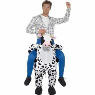 Instapfoute kleding koe voor volwassenen