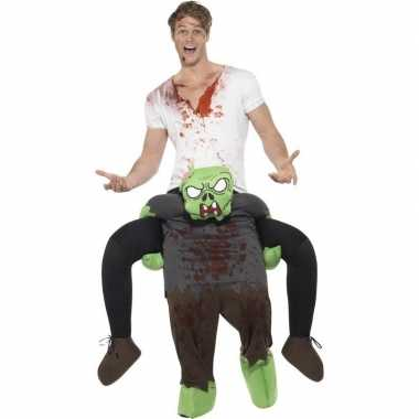 Instapfoute kleding zombie voor volwassenen
