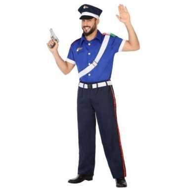 Italiaanse politie pak/foute kleding voor volwassenen
