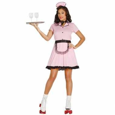 Jaren 50 diner girl foute kleding